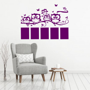 Sticker perete Memories Owl