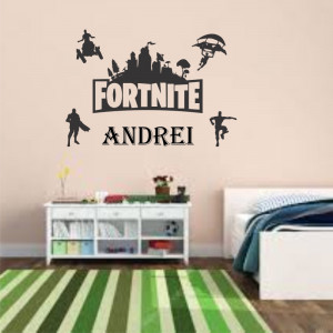 Sticker perete personalizat My Name Boy 22