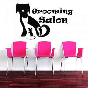 Sticker perete Pet Salon 1