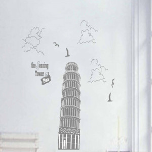Sticker perete Pisa Tower