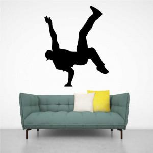 Sticker perete Silueta dansator