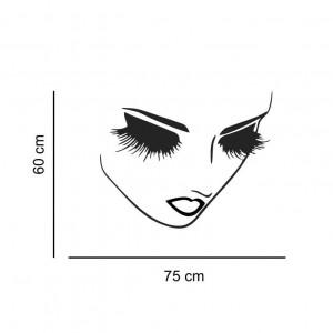 Sticker perete silueta Femeie 2
