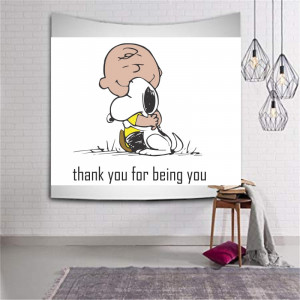 Sticker perete Snoopy - Thank You