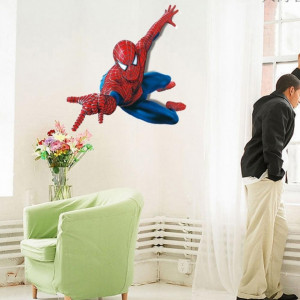 Sticker perete Spiderman 110 x 90 cm - Disney Marvel
