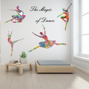 Sticker perete The Magic Of Dance