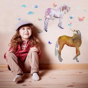 Sticker perete Unicorn Story