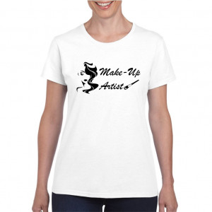 Tricou personalizat dama Make Up Artist 3