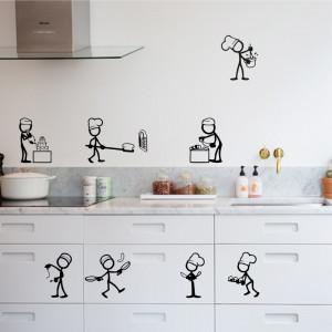 Set stickere bucatarie Kitchen Decor 2