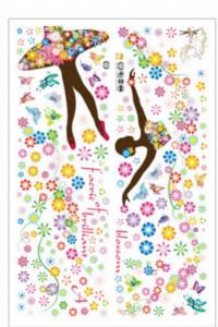 Sticker decorativ fereastra Ballerina 60x90cm
