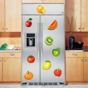 Sticker decorativ legume si fructe