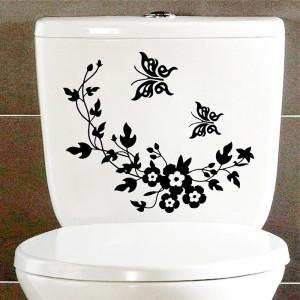 Sticker decorativ mobilier Flori