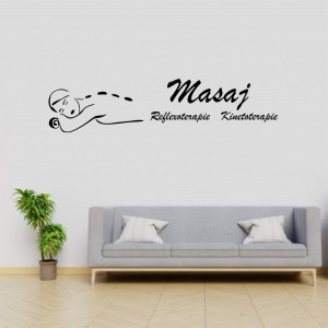 Sticker decorativ Salon Masaj 3