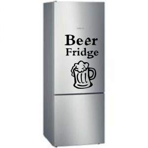 Sticker frigider Beer Fridge