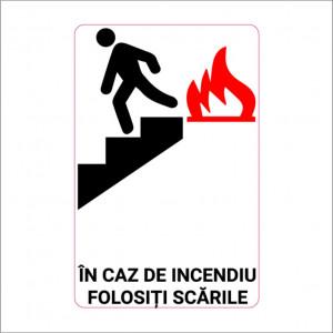 Sticker indicator Folositi scarile 2