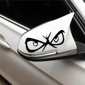 Sticker oglinda auto Eyes on You 2 buc/set