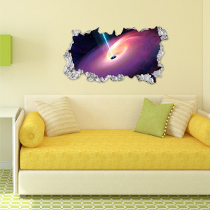 Sticker perete 3D Galaxy
