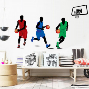 Sticker perete Basketball 90 x 160 cm