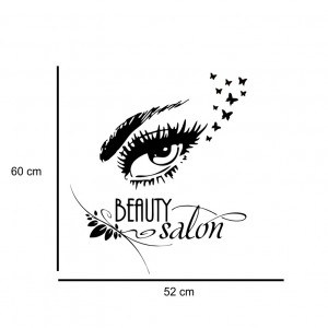 Sticker perete Beauty Salon 4