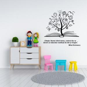 Sticker perete Citeste Mereu