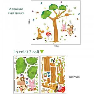 Sticker perete Dream Tree Forest