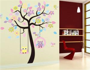 Sticker perete Dream Tree Owls