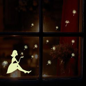 Sticker perete Glow in the Dark Dandelion