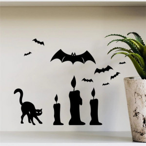 Sticker perete Halloween Decor 1