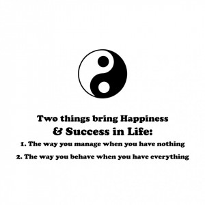 Sticker perete Happiness and Success