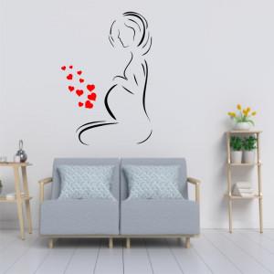 Sticker perete Mama