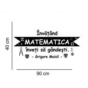 Sticker perete Matematica