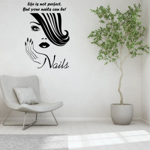 Sticker perete Nail Salon 5