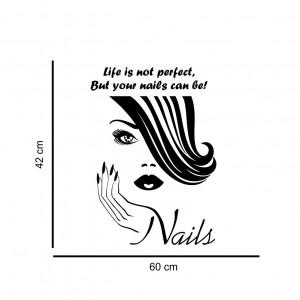 Sticker perete Nail Salon 5