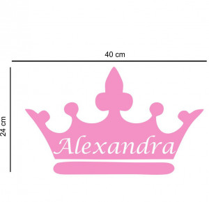 Sticker perete personalizat My Name Girl 4