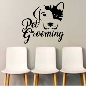 Sticker perete Pet Salon 2