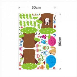 Sticker perete Tree House 195 x 40 cm