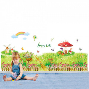 Sticker perete Wonderland 115 x 60 cm