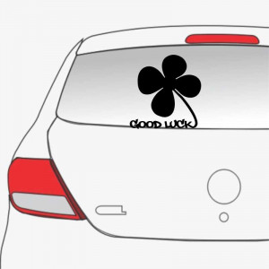 Sticker auto Trifoi