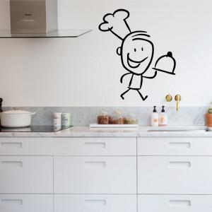 Sticker bucatarie Chef