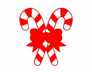 Sticker decorativ Christmas Candy