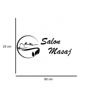 Sticker decorativ Salon Masaj 1