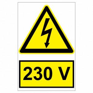 Sticker indicator 230V