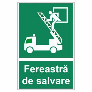 Sticker indicator Fereastra de salvare