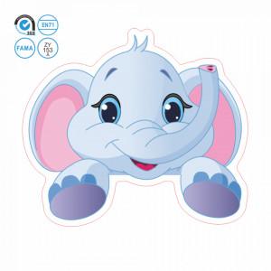 Sticker intrerupator elefant 9 x 10 cm
