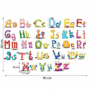 Alfabet cu litere colorate 5