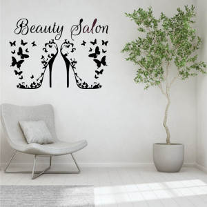 Sticker perete Beauty Salon 2