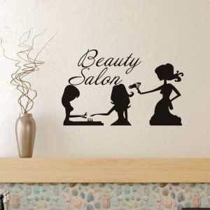 Sticker perete Beauty Salon