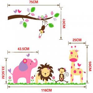 Sticker perete Dream Tree Jungle