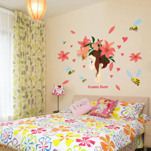Sticker perete Flower Fairy