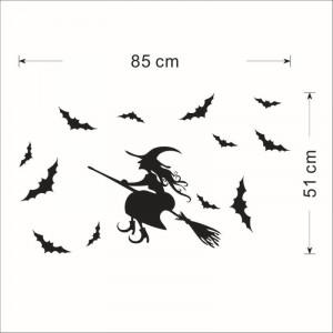 Sticker perete Halloween Decor 8