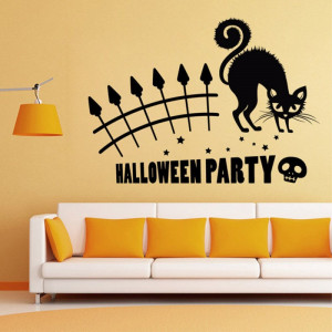 Sticker perete Halloween Party